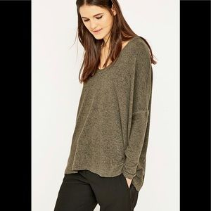 Silence & Noise Urban Outfitters FelicityTop Green